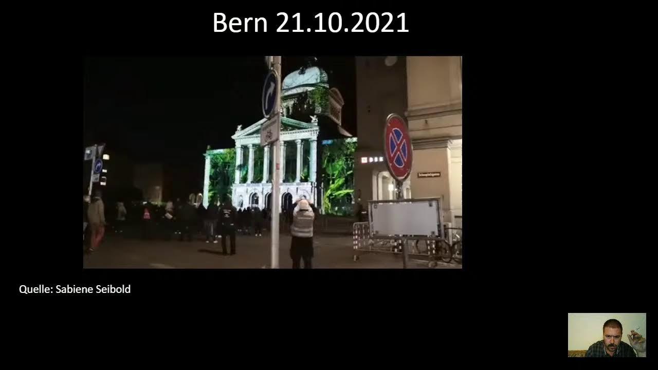 Bern 21.10.2021  Berichterstattung  (gemäß des) Grundgesetzes Art.5
