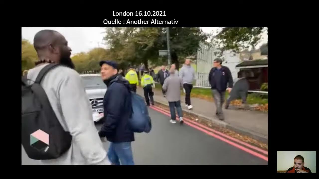 LIVE STREAM 16.10.2021 aus London und Paris People For People's March Berichterstattung  (gemäß d…