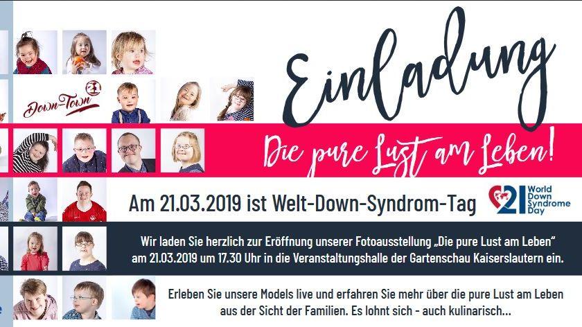Weltdownsyndromtag in Kaiserslautern-Image