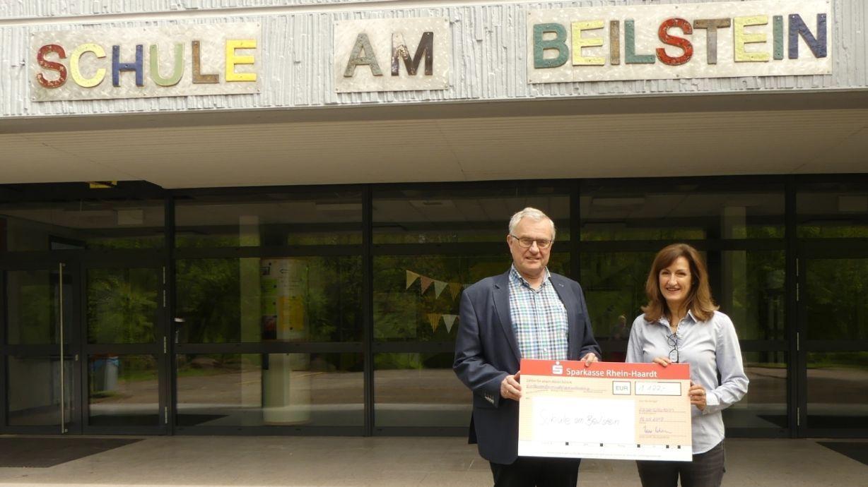Schule am Beilstein bekommt Spende von 1.122 Euro-Image