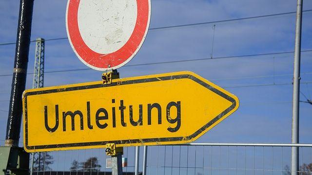 Sperrung der Spittelstraße aufgrund des Altstadtfests-Image