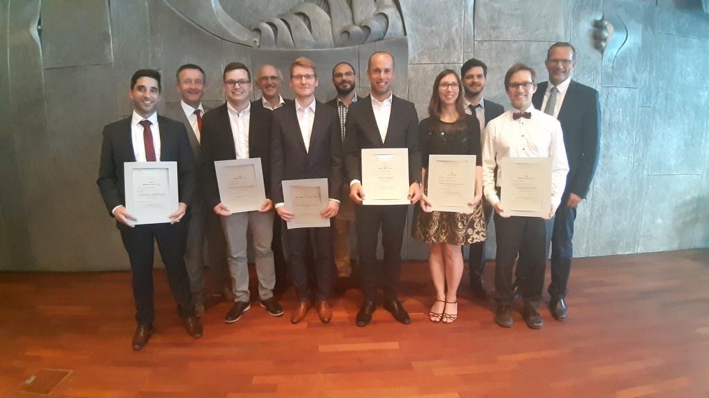 Kreissparkassen-Stiftung ehrt Absolventinnen und Absolventen der TUK-Image