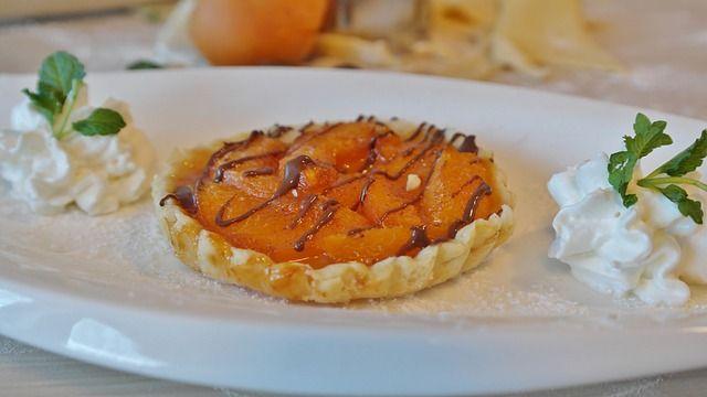 Aprikosentörtchen mit Mandeln und Lavendel-Image