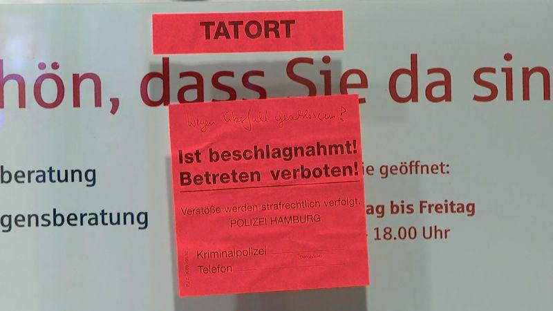 Nach Haspa überfall Hamburg 1